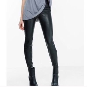 Express faux leather leggings!!!